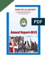 Annual Report 2012 CDLU
