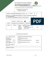 Itvm-Vi-po-002-06 Tarjeta de Control de Servicio Social