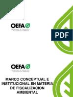 2. Marco Conceptual e Institucional en Materia de Fiscalización Ambiental