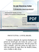 seminario projeto Piscicultura