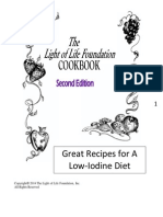 Low Iodine Cookbook