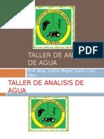 Diapositiva 1 Taller de Analisis de Agua