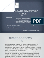 Upmh 6b Cobranza Documentaria Simple