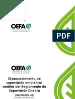 5. El Procedimiento de Supervisión Ambiental - Análisis Del Reglamento de Supervisión Directa