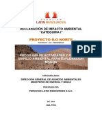 Resumen Ejecutivo ILO NORTE