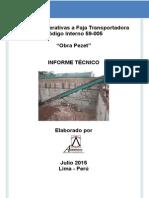I1958Rev1 - GyM - Analisis Estructural a Estructura Faja Transportadora 59-005 Obra Rivera Pezet Jun15