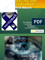Child Abuse & Counselling for school teachers