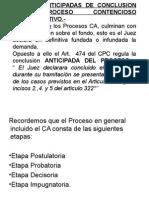 Formas Anticipadas de Conclusion Del Proceso Contencioso (1)