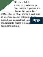 Maresal Comandor, Constantin Copaciu