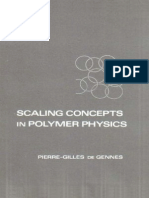 [Pierre-giles de Gennes] Scaling Concepts in Polymer Physics