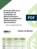 9. Rol Del OEFA en La Minería Informal e Il*Descripción:(Campo requerido)egal - PAS