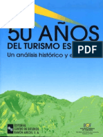 050 Anos Del Turismo Espanol