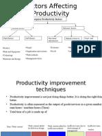 VE Productivity
