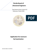 PE license Florida
