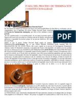 La Audiencia Privada Del Proceso de Terminación Anticipada y Su Constitucionalidad