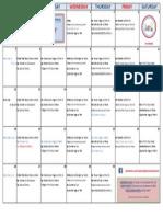 DAV July Classes