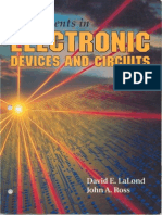 Experiments in Electronic Devices and Circuits