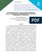 Avalos Docencia Reflexiva-InV