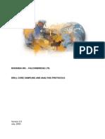 NORANDA - Drill Core Sampling and Analysis Protocols