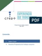 Propuesta CEPSICOL - Crea+ (Programa de Voluntariado)