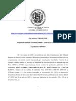 Resolucion_TSJ Sobre Nulidad Por Inconstitucionalidad_Ref_Ley Del BCV_21!01!11