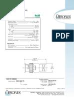 Aeroflex Attenuators 75 Ohm 9033_75