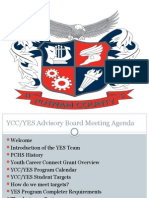 yes advisory board meeting presentation