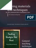 4 Teaching Materials