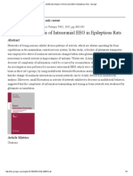 Multifractal Analysis of Intracranial EEG in Epilepticus Rats - Springer