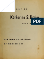 In Memory of Katherine S. Dreier