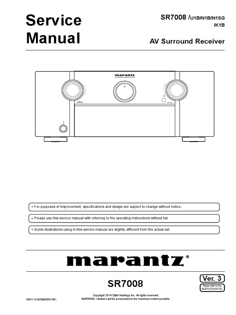 marantz 19 service manual