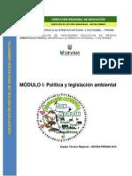 Modulo i de Educación Ambiental 2013 Final