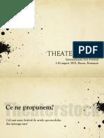 Theaterstock, ediția 1, prezentare