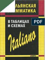 Italyanskaya Grammatika v Tablits Galuzina