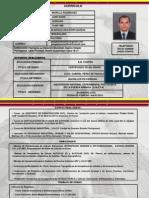 Curriculo.. Ing. Civil Morillo. Portuguesa