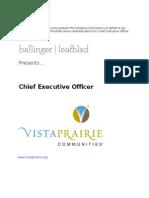 Ballinger Leafblad - CEO Profile - Vista Prairie Communities