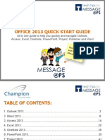 MessageOps Office 2013 Quickstart Guide