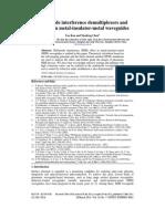 JP_OE_Multimode Interference Demultiplexers and Splitter