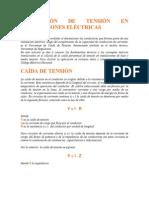 Regulación de Tensión en Instalaciones Eléctricas