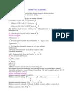 Aritmetica Si Algebra
