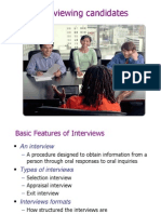 Chapter 06(Interviewing Candidates)