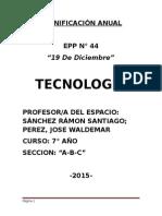 Planificación Anual Epp 44 Para 7mo