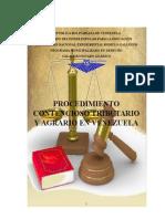 procedimiento contencioso agrario y tributario