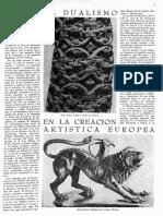 El dualismo en la creación artística europea, de Paul Westheim, Revista de la Universidad de México, núm. 3, noviembre, 1953.pdf