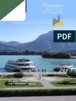 Boat Trips on Lake Forggen Fuessen Neuschwanstein