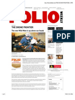 2015.07.08 the Drone Frontier - Folioweekly