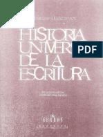 Haarmann, Harald - Historia Universal de La Escritura Ed. Gredos 2001