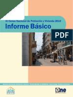 Resumen Resultados Generales Censo 2010