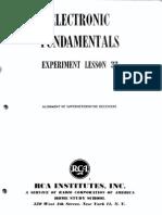 Experiment Lesson 33, Alignment of Superheterodyne Receivers