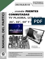 Fuentes Conmutadas, Plasma, LCD y LED Seminario